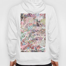 Moscow map Hoody