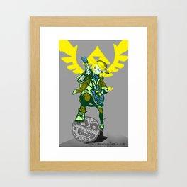 Hero of 4/4 time Framed Art Print