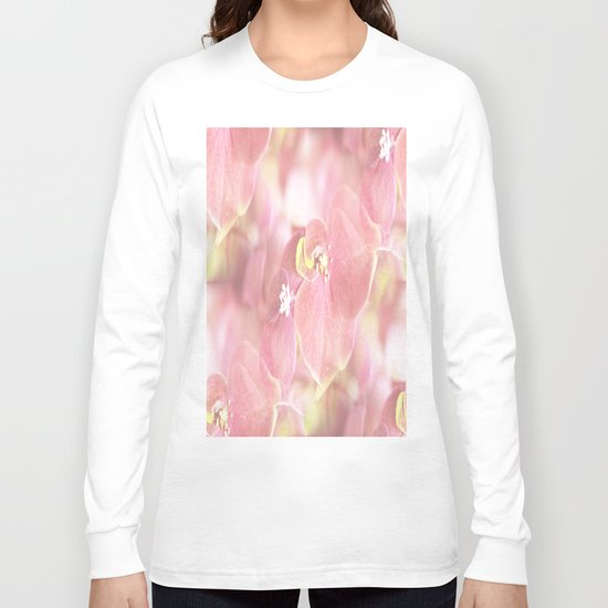 Some Soft Pink Flowers Long Sleeve T-shirt