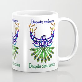 Beauty and Strength Coffee Mug