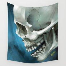 Skull 3 Wall Tapestry