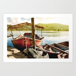 Laguna Oconal Art Print