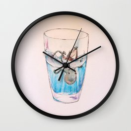 A Little Overboard Wall Clock