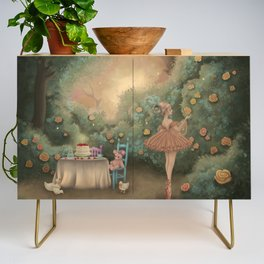 Flowers for the Table Credenza