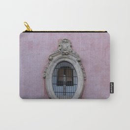 Pink Spanish Facade Carry-All Pouch