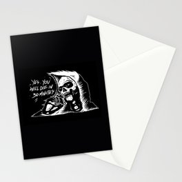 die in 30 minutes Stationery Cards