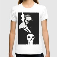 punisher T-shirts featuring Inktober Punisher by MeatyElbow