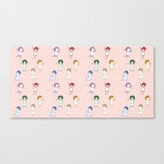 some girls Canvas Print