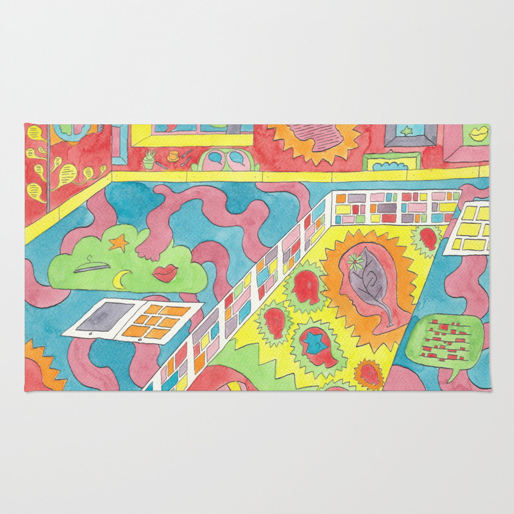 The Future Past Rug by Sandrococco RUG9011281