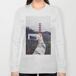 Pocket shot Long Sleeve T-shirt