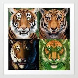 2019MMM Champion Tiger Art Print