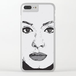 Hello It's Me Clear iPhone Case