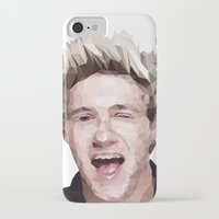 niall horan iPhone & iPod Cases featuring Niall Horan - One Direction by jrrrdan