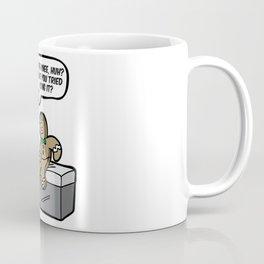 SORE KNEE GINGERBREADMAN orthopaedist orthopedist Coffee Mug