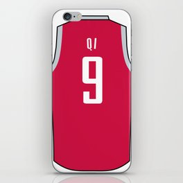 Zhou Qi Jersey iPhone Skin
