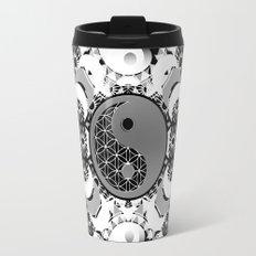YinYang Sacred Geometry Totem Travel Mug