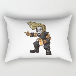 Heavy Metal Fan | Headbanger Music Festival Rectangular Pillow
