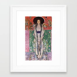 "Gustav Klimt ""Portrait of Adela Bloch-Bauer"" II Framed Art Print"