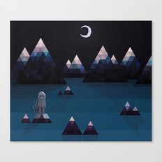 so quiet Canvas Print