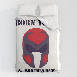 Born to be a mutant Duvet Cover