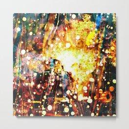 Burning Car - Dream Series 003 Metal Print