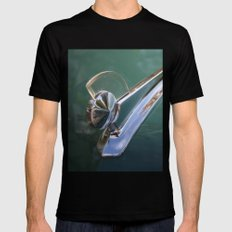 Vintage FORD Hood Ornament X-LARGE Black Mens Fitted Tee