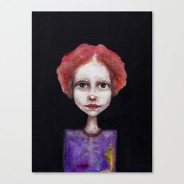 red hair Canvas Print