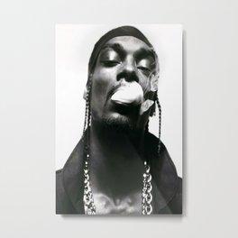 Snoop Dogg smoking Poster Print, Singer Star, Tshirt Metal Print