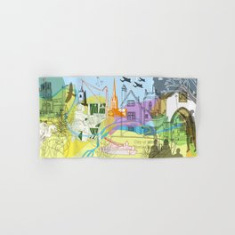 Norwich- City of Stories Hand & Bath Towel