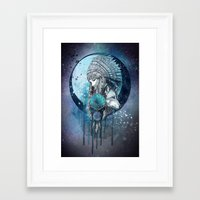 dreamcatcher Framed Art Prints featuring Dreamcatcher by Marine Loup