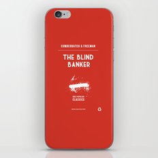 BBC Sherlock The Blind Banker Minimalist Poster iPhone & iPod Skin