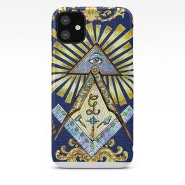 Masonic Symbols iPhone Case