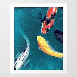Water Ballet Art Print