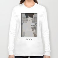 pool Long Sleeve T-shirts featuring pool by frtortora