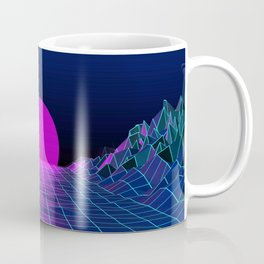 80's moon Coffee Mug