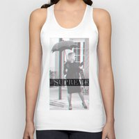 jessica lange Tank Tops featuring Jessica Lange Fiona Goode Supreme by NameGame