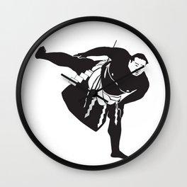 Sumo Shiko Wall Clock