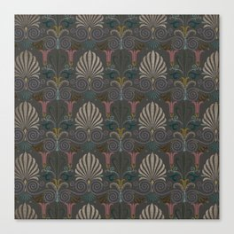 Ornamental Victorian Inspired Pattern Canvas Print