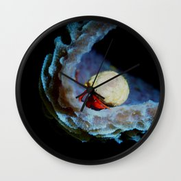 Colours of Night Wall Clock