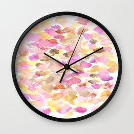 150725 My Happy Bubbles 14 Wall Clock