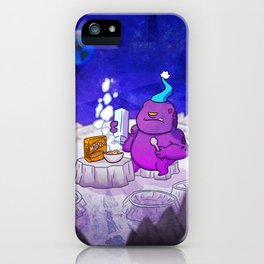 ON THE MOON iPhone Case