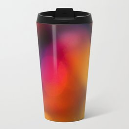 Abstract Background Candle Travel Mug