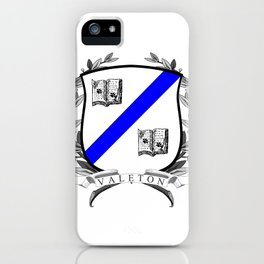 Valeton University Crest iPhone Case