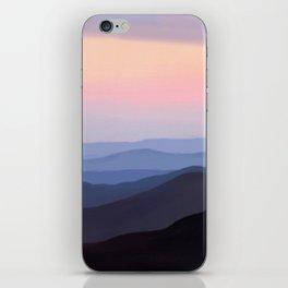 Breath Taking Blue Ridge Mountains iPhone Skin