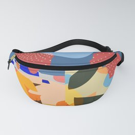 A Town In Manhattan Fanny Pack