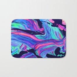 Neon abstract #charm Bath Mat