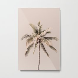 Palm Trees Print, Tropical Print, Palm Art Print, Palm Tree Art, Beach Decor Metal Print