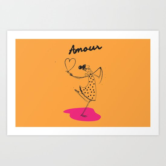 "The Ink - ""Amour"" Art Print"