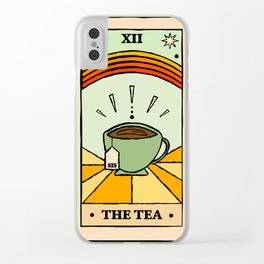 That's the TEA, sis tarot card Clear iPhone Case