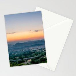 Sunrise in Macedonia Stationery Cards